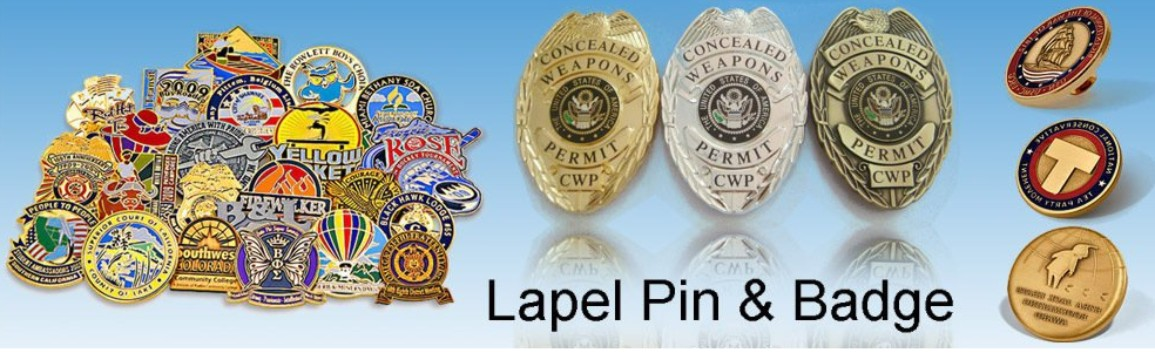 Lapel pins & Badges