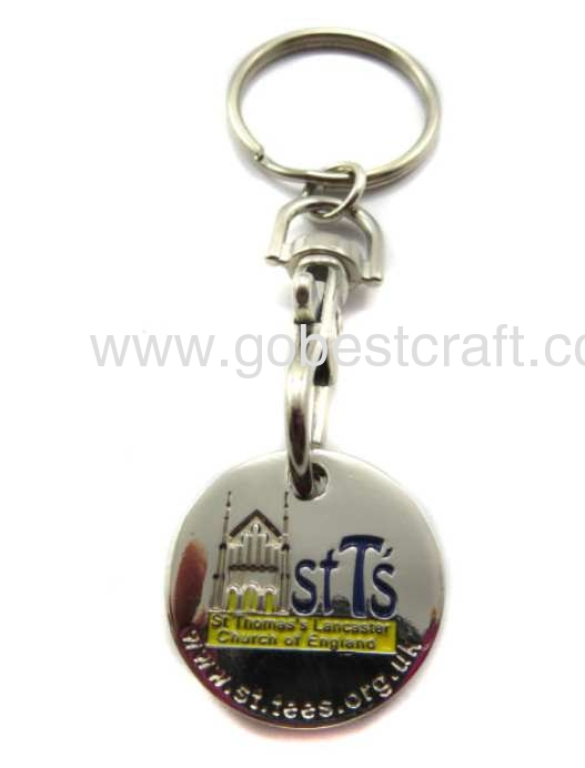 Trolley coin keychain 09