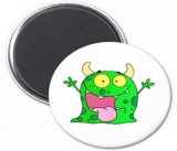 Tin button fridge magnet 11