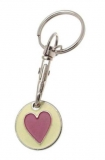 Trolley coin keychain 12